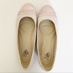 Life Stride Velocity Flats with Memory Foam, Sz 9M